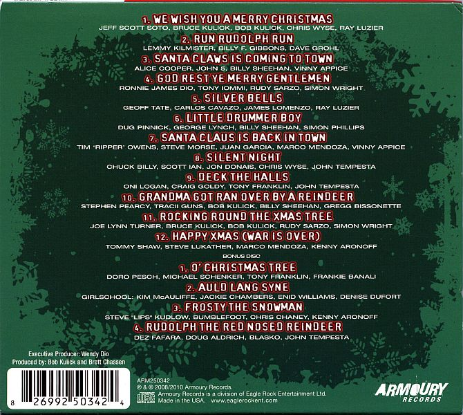 We Wish You A Metal Xmas And A Headbanging New Year (2CD) (Armoury ...
